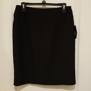 New black Worthington pencil skirt, size 10.
